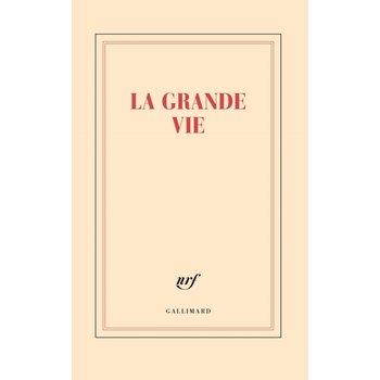 "GALLIMARD Grand carnet ligné ""LA GRANDE VIE"""