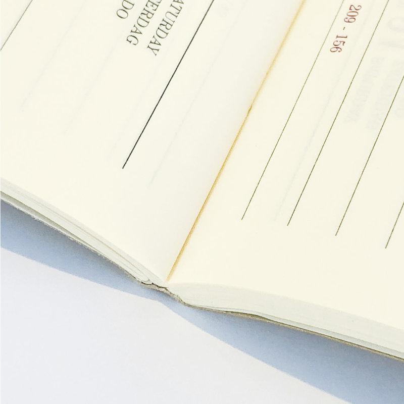 EXACOMPTA Agenda Civil 2 jours/page Duo Fall 6.5x10.5cm Coloris aléatoires