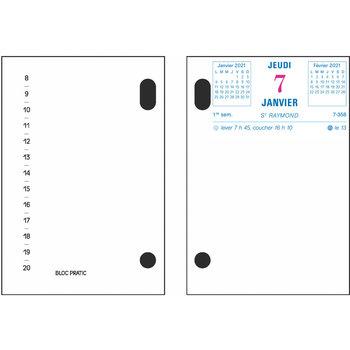 EXACOMPTA Bloc-pratic 8.2x12 date à droite par 50