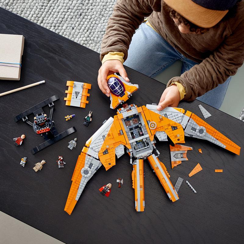 LEGO 76193 Le vaisseau des Gardiens