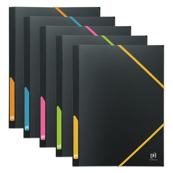 OXFORD Chemise élastique à rabats For Student A4 Polypro opaque bicolore