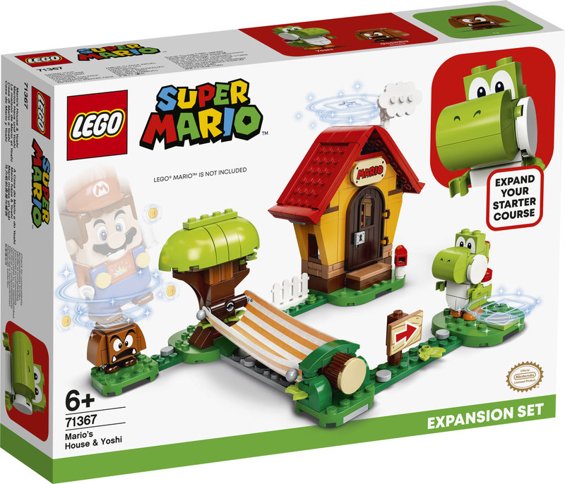 LEGO 71367 Ensemble d'extension La maison de Mario et Yoshi