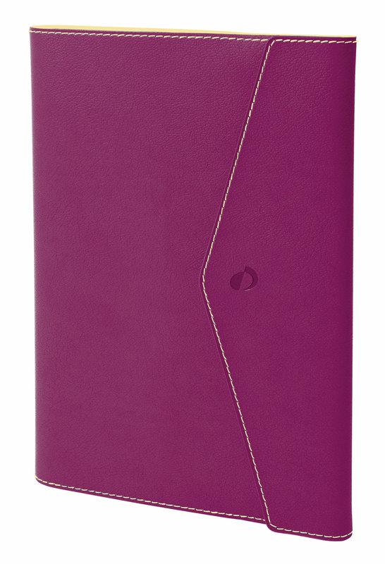 QUO VADIS Agenda Civil Affaires Clover Toscana rep semainier 10x15cm Rose