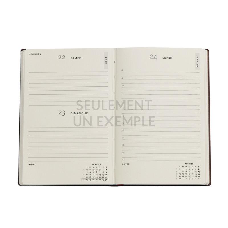 PAPERBLANKS Agenda 2022 1 jour/page Viola Mini