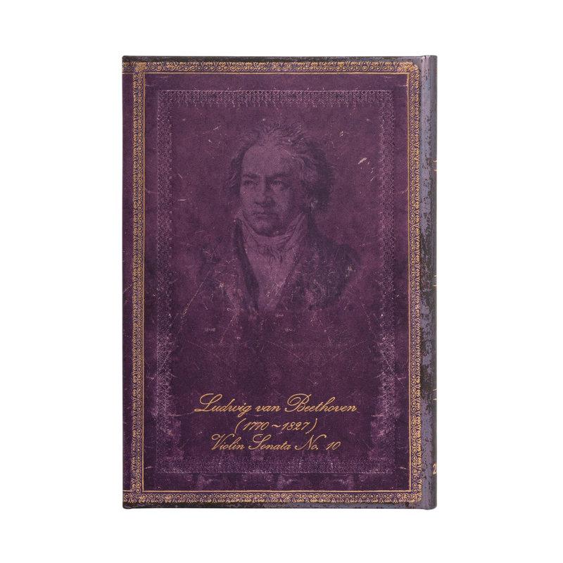 PAPERBLANKS Agenda 2022 semainier Beethoven, Sonate pour le Violon n° 10 Mini