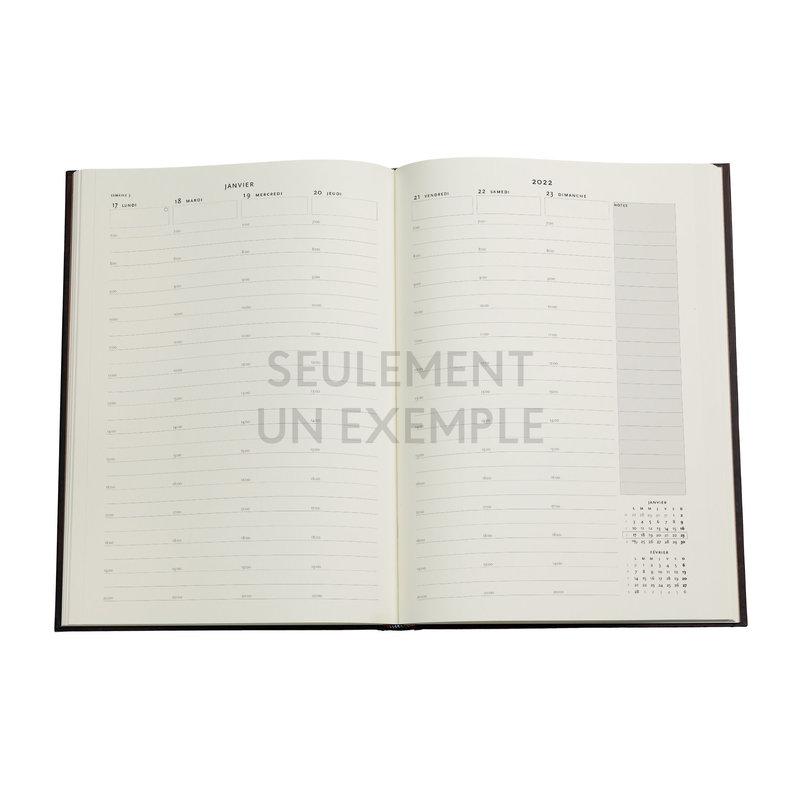 PAPERBLANKS Agenda 2022 semainier Chroniques Turquoises Grand