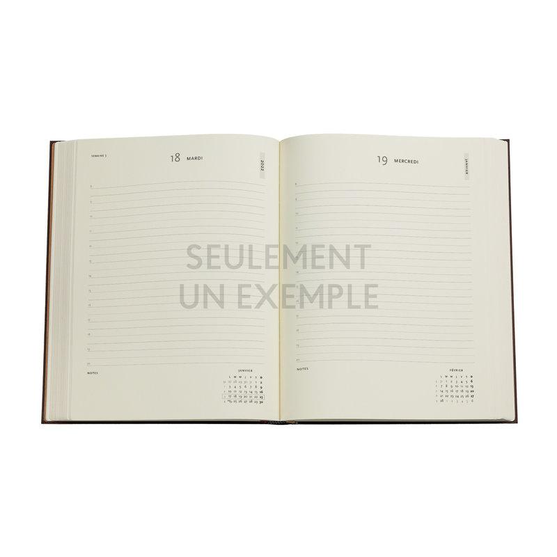 PAPERBLANKS Agenda 2022 1 jour/page Fée Verte Ultra