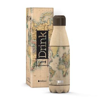 I-DRINK Bouteille thermique 500 ml Noir