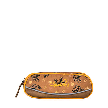 CAMELEON Trousse 2 compartiments Yellow Dino