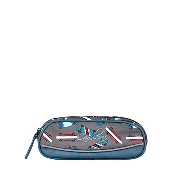 CAMELEON Trousse 2 compartiments Blue Skate