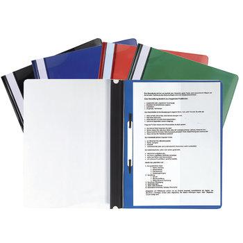 EXACOMPTA Chemise à lamelle Premium PVC A4+ coloris aléatoires