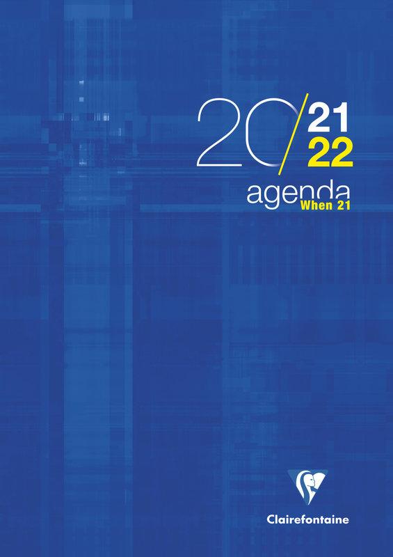 EXACOMPTA Agenda Scolaire semainier When 21 297x210 couleurs aléatoires