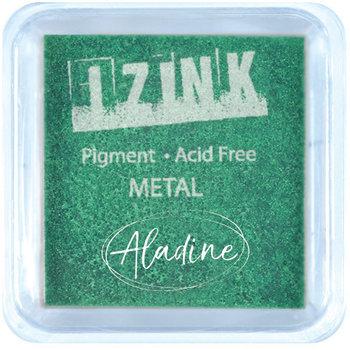 ALADINE Encreur Izink Embossing Light Green Metal - M