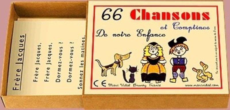 MARC VIDAL 66 Chansons Comptines