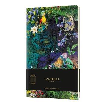 CASTELLI Cahier Quaderno Eden grand format ligné Lily