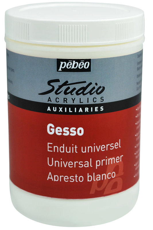 PEBEO Studio Gesso acrylique pot de 1l