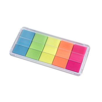WONDAY Distributeur de 100 Marque-Pages 20x44mm coloris fluo