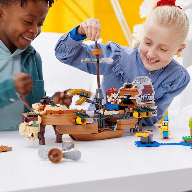 LEGO 71391 Ensemble d'extension La forteresse volante de Bowser