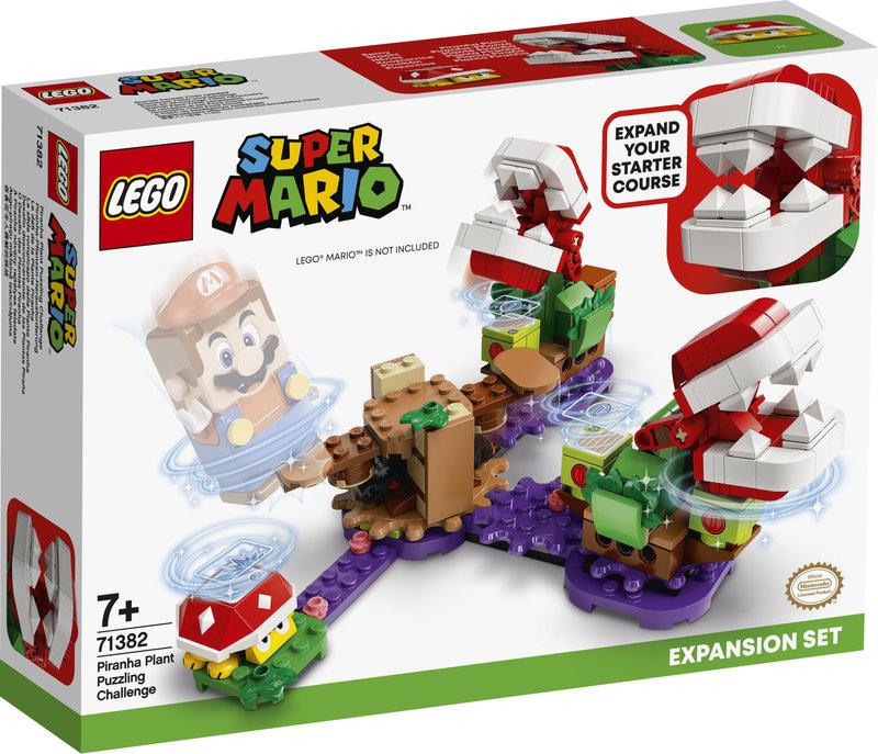 LEGO 71382 Ensemble d'extension Le défi de la Plante Piranha