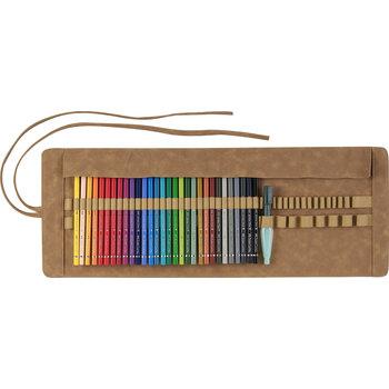 FABER CASTELL Trousse 30 crayons aquarellables A.Durer + pinceau réservoir d'eau