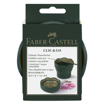 FABER CASTELL Gobelet CLIC&GO Art & Graphic