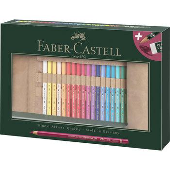 FABER CASTELL Trousse 30 crayons Polychromos + accessoires