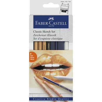 FABER CASTELL Set d'esquisses classique x6