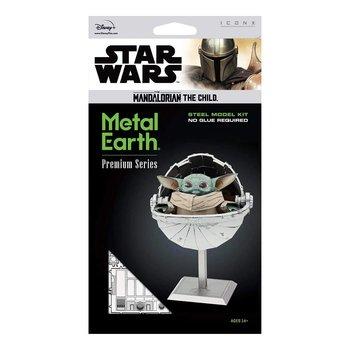 GRAINE CREATIVE IconX Maquette en métal Star WarsThe Mandalorian The Child 8x5,8x9,2cm