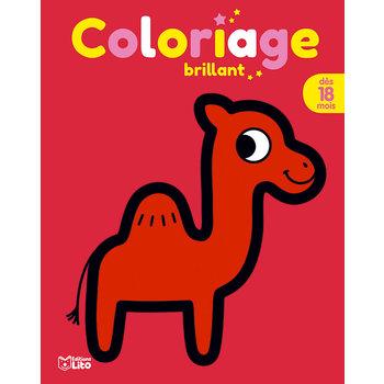 EDITIONS LITO Coloriage brillant 18 mois Le dromadaire