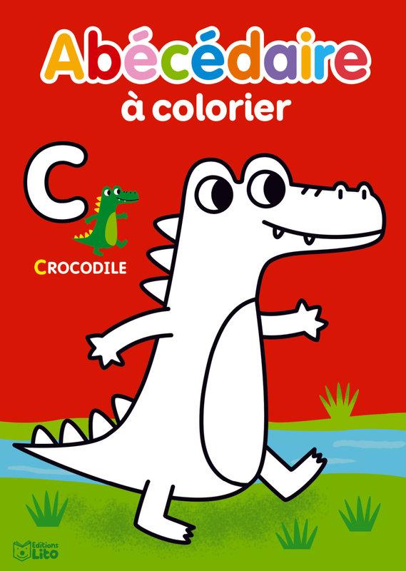 EDITIONS LITO Abécédaire à colorier 3 ans
