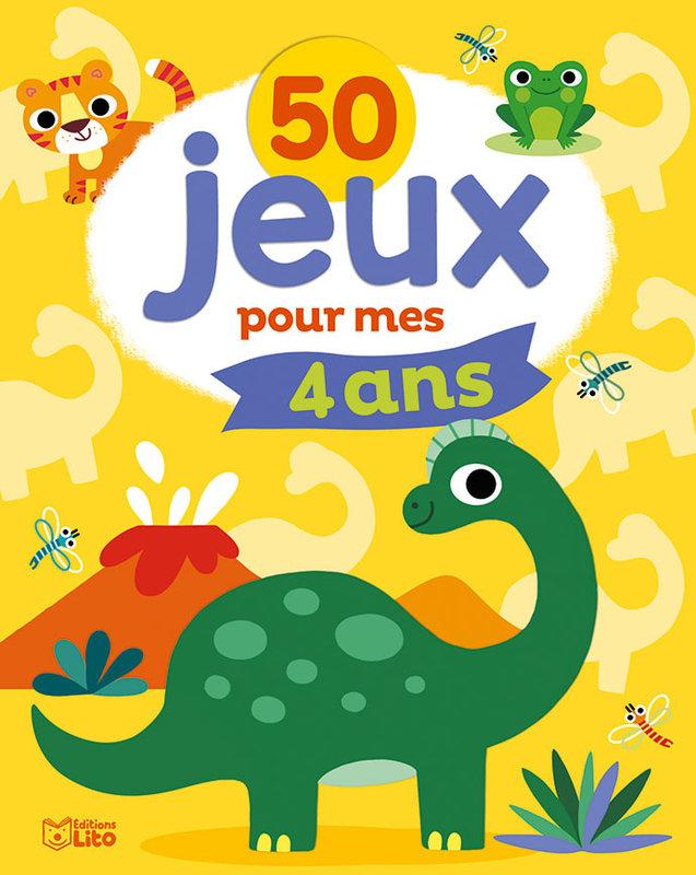 EDITIONS LITO 50 Jeux pour mes 4 ans