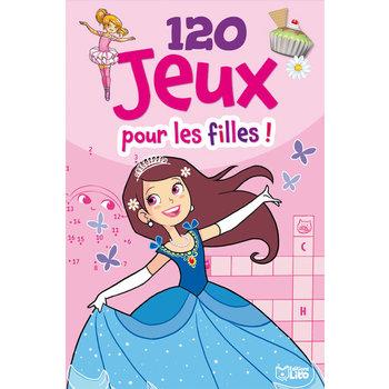 EDITIONS LITO Bloc d'activités 120 Jeux pour les filles