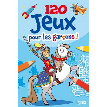 EDITIONS LITO Bloc d'activités 120 Jeux pour les garçons