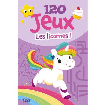 EDITIONS LITO Bloc d'activités 120 Jeux pour les licornes