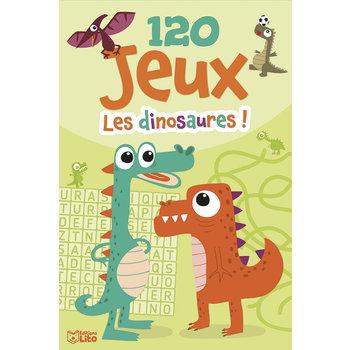EDITIONS LITO Bloc d'activités 120 Jeux les dinosaures