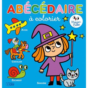 EDITIONS LITO Coloriage Maternelle Marion Billet 3 ans Abécédaire