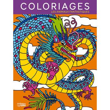 EDITIONS LITO Mes Grands Coloriages Les animaux fantastiques