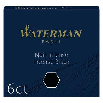 WATERMAN Etui de 6 Cartouches d'encre Mini Noir