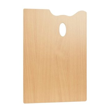 PEBEO Palette bois rectangulaire 20x30cm