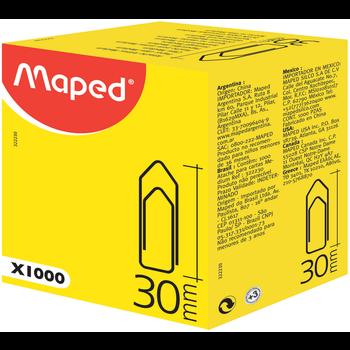 MAPED Attache-lettres 30 mm. boîte de 1 000