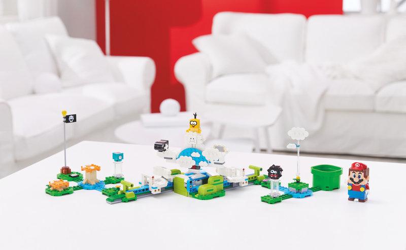 LEGO 71389 Ensemble d'extension Le monde du Ciel de Lakitu