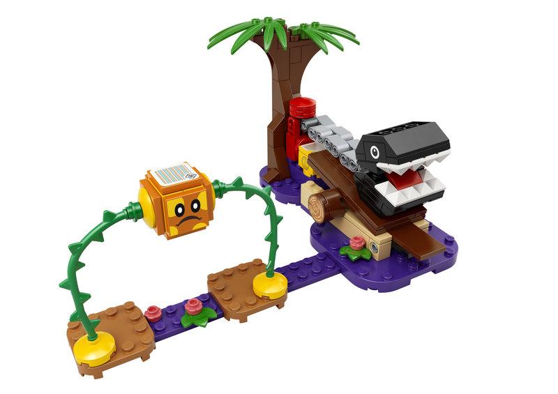 LEGO 71381 Ensemble d'extension La rencontre de Chomp dans la jungle