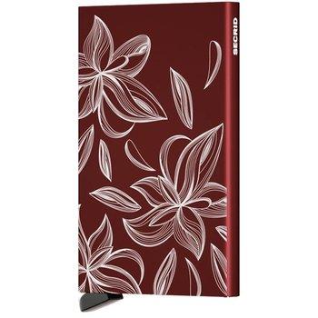 SECRID Cardprotector  Magnolia Bordeaux