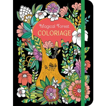 CHANTECLER Magical Forest Coloriage