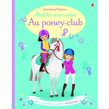 J'habille mes amies - Au poney club