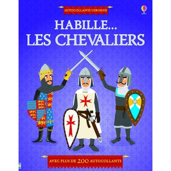 USBORNE PUBLISHING J'habille - Les chevaliers