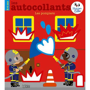 EDITIONS LITO Autocollants Marion Billet 2-4 ans es Pompiers