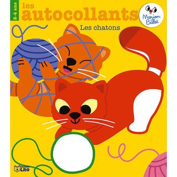 EDITIONS LITO Autocollants Marion Billet 2-4 ans Les Chatons
