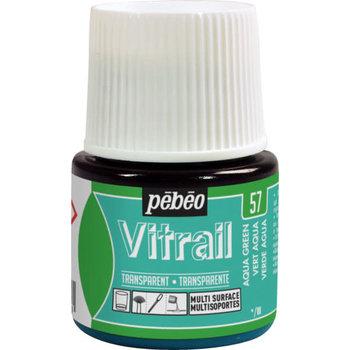 PEBEO Peinture Vitrail transparente - 45 ml - Vert aqua