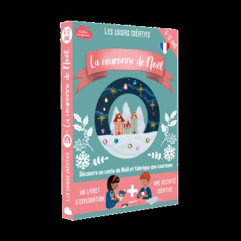 L'ATELIER IMAGINAIRE Kit créatif Couronne de Noël